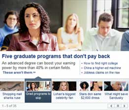 Yahoo News Banner Feature