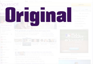 Link for Original Yahoo Homepage